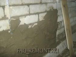 Штукатурка стен своими руками с использованием маяков
