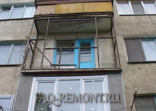 Закрыть балкон своими руками