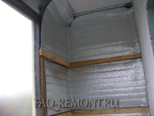 Утепление балкона своими руками. личный опыт. пошаговые фото.