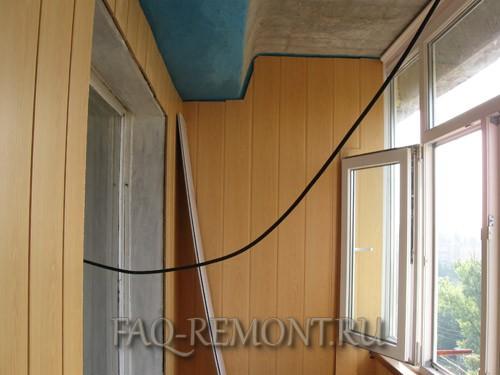 Как мы делали ремонт балкона своими руками. с чего начали ре.