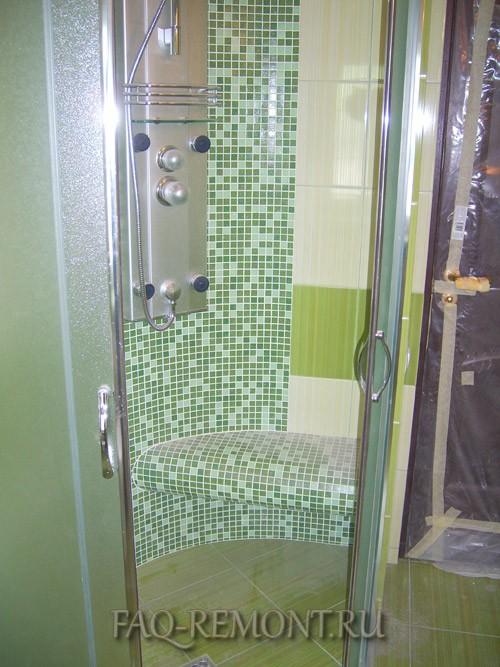 Душевая ванной комнаты своими руками фото