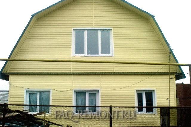 Фасад дома это его лицо и о нем хозяева